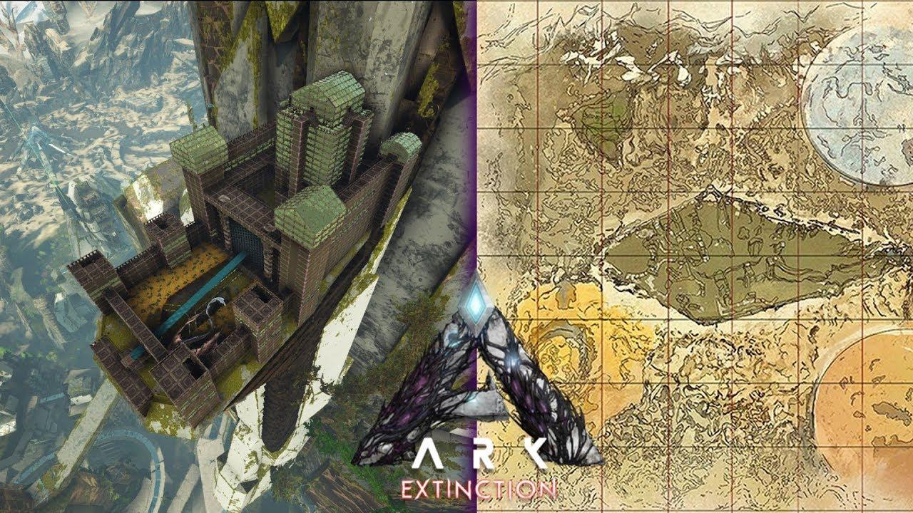 Ark: Extinction - Top 5 Epic Base Locations
