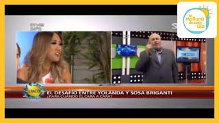 Mirá la reacción de Yolanda Park luego de la respuesta de Sosa Briganti