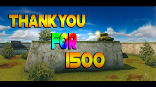 TankiOnline | 1,500 SUBSCRIBERS SPECIAL!!!! Special Subscriber Montage