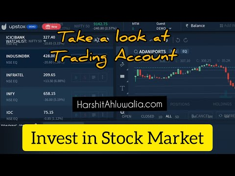Get Started with Investment in Stock Market using Upstox