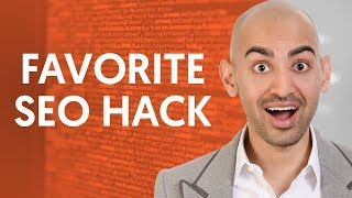 My Favorite SEO Hack to Increase Website Traffic | Neil Patel