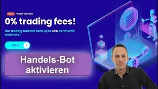 Smart Trade Coin Go - Handels-Bot aktivieren