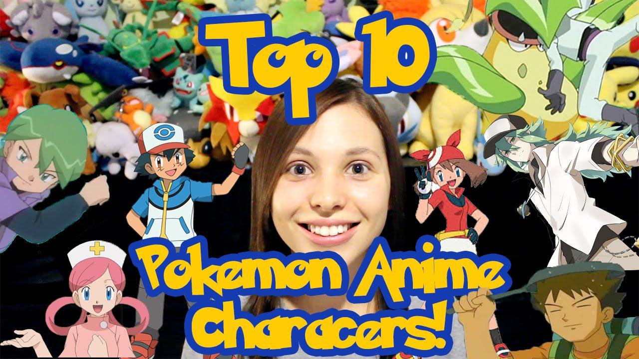 Top 10: Pokemon Anime Characters! - YouTube