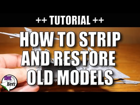 How to Strip and Restore Old Models (Part 2)