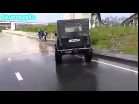 Лучшие авто приколы!!! Придурки на дорогах!!!