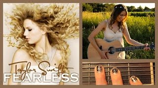 "♥ ""You Belong With Me"" - Taylor Swift Guitar Lesson ♥"