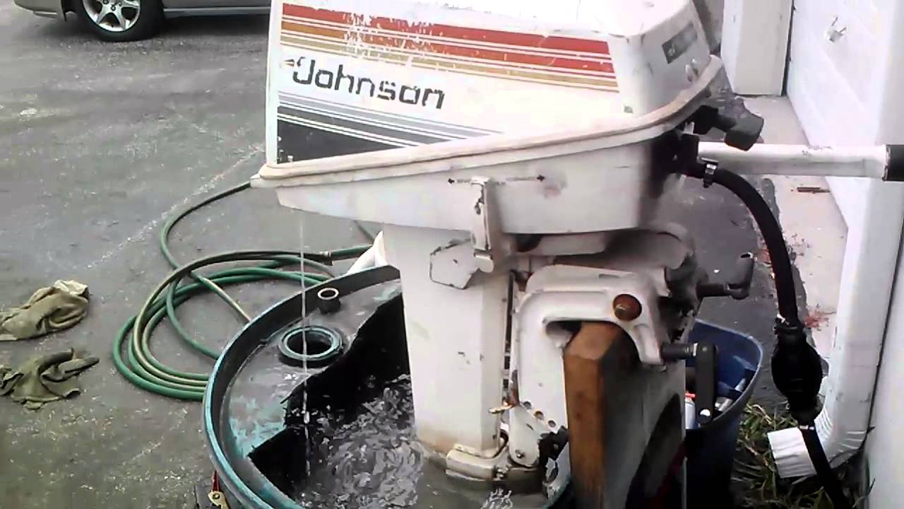 Johnson tiller boat motor for sale 450 youtube for Johnson evinrude outboard motors for sale