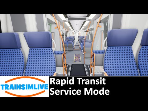 Train Sim World - Rapid Transit - Service Mode