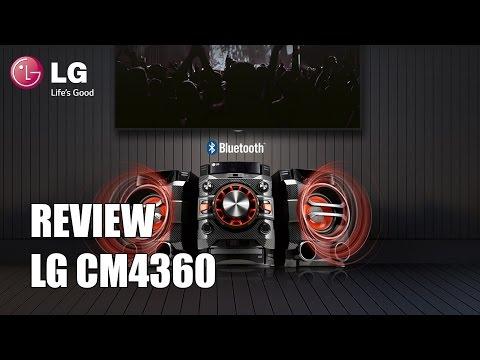 Review LG CM4360 Microcadena Bluetooth 230W