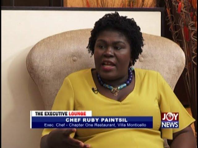 Chef Ruby Paintsil - The Executive Lounge on JoyNews (20-11-18)