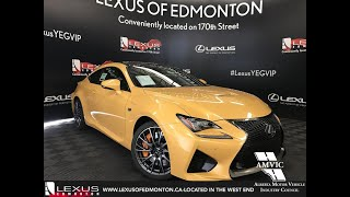 2019 Lexus RC F Performance Package Review
