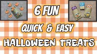 QUICK & EASY DIY Halloween Tre…