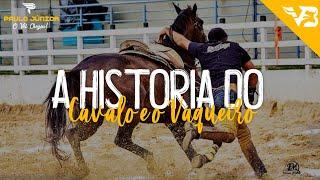 A Historia do Cavalo e o Vaqueiro - Paulo Junior (Video Clipe Vaquejada) V.B Official