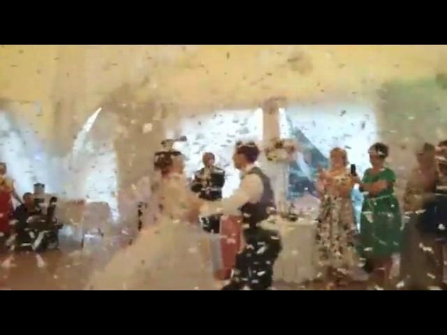 Волшебный свадебный вальс!