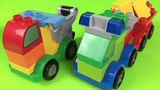 Lego duplo machines ages 1 1/2 - 5 build trucks cars tow trucks the best toddler mighty machines