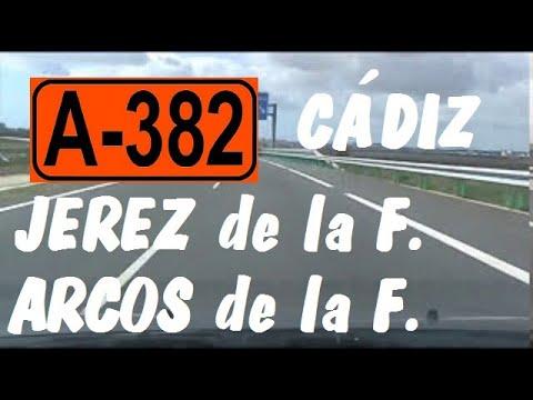 A-382 Cádiz , Autovía Jerez - Arcos de la Fra. , Zona Arcos / Province of Cádiz , Highways in Spain.