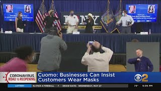 Cuomo: Businesses Can Insist C…