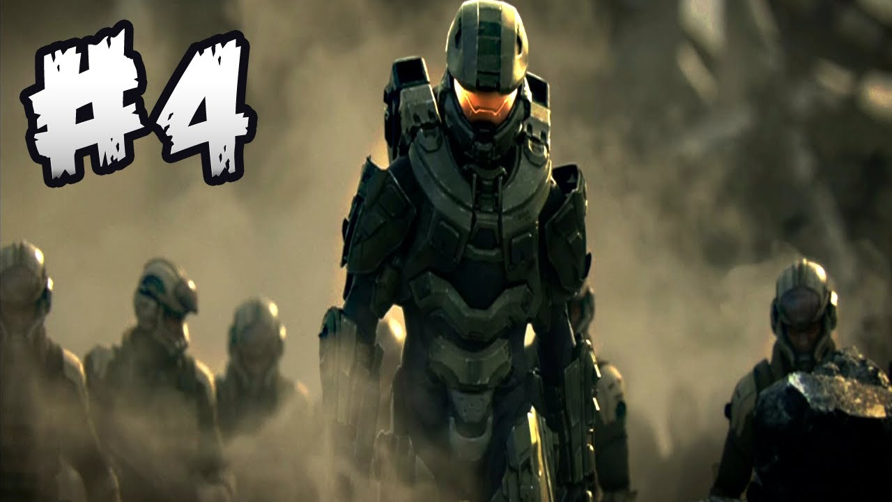 Halo 4 Master Chief Walkthrough Gameplay Part 4 Hd Youtube