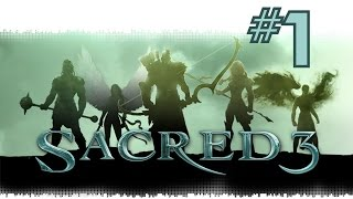 Sacred 3 Ep1 - The first stage with the Orc