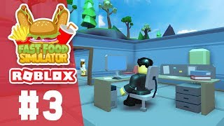 HIRING A MANAGER - Roblox Fast Food Simulator #3