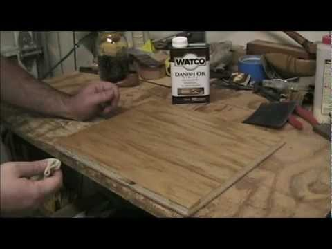 Danish Oil - YouTube