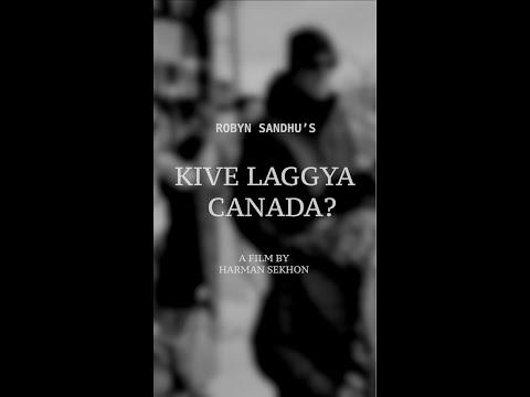 KIVE LAGGYA CANADA | Robyn Sandhu | Harman Sekhon | Punjabi Shayri |