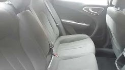 2017 Chrysler 200 - How to Fold Down Rear Seat