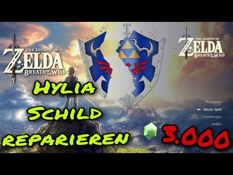Kletterausrüstung Set Zelda : Hylia schild reparieren zelda breath of the wild in min erklärt