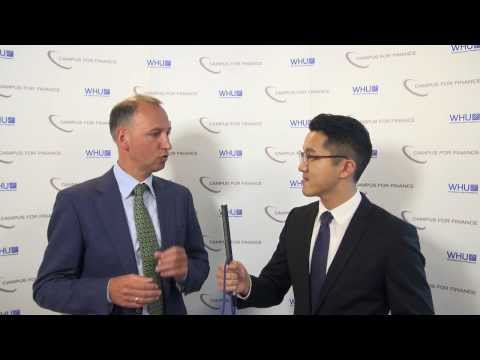 Interview with Werner Baumann - WHU New Year's Conference 2014