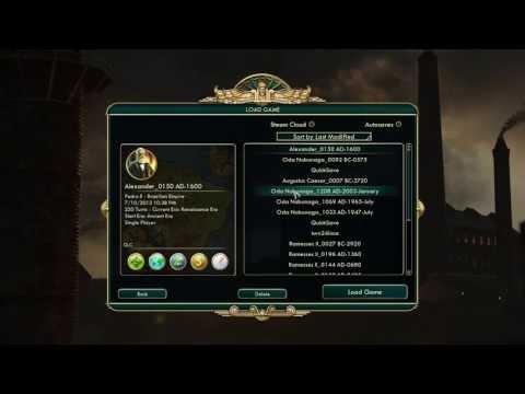 "Civilization V - Brave New World ""Explaining Trade Routes"" Walkthrough 1080p! PC"