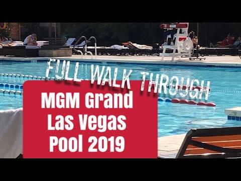 MGM GRAND LAS VEGAS | FULL POOL TOUR  ( OCTOBER 2019) | MUST WATCH