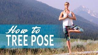 How To Tree Pose or Vrksasana with Mona Godfrey