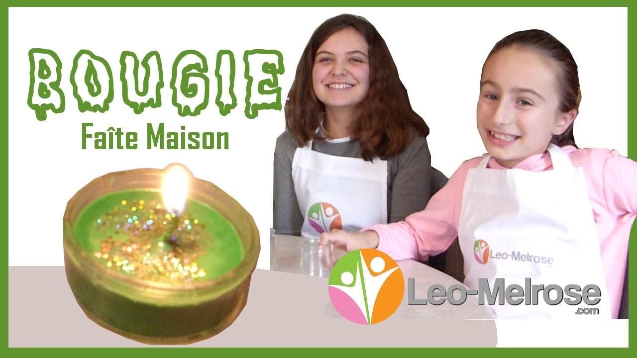 fabriquer une bougie maison avec nos enfants - youtube
