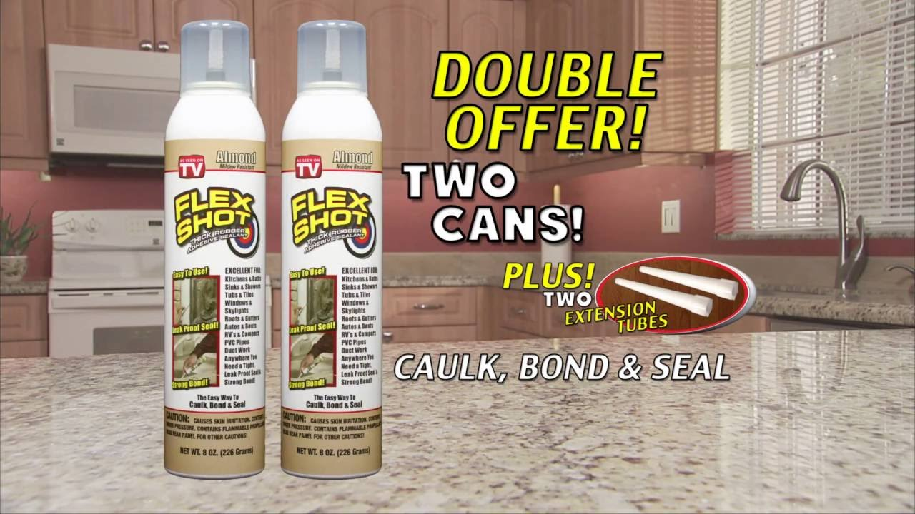 Flex Shot Official Store – Caulk, Bond & Seal – Low Prices