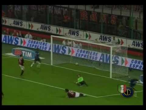 Milan - Inter 0 - 4 Highlights Scarpini (Derby di Milano 29 agosto 2009)