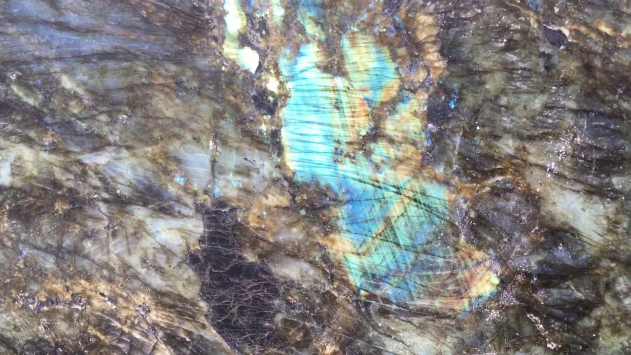 Labradorite Granite From Madagascar Youtube