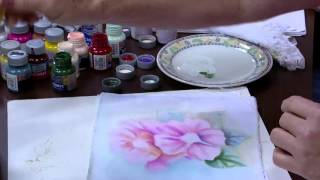 Pintura aguada de flores – Farides Moretti
