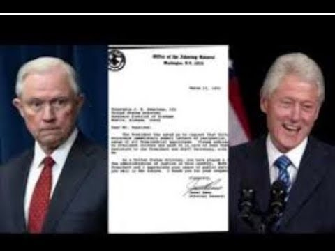 BREAKING! LOOK WHAT BILL CLINTON WROTE TO JEFF SESSIONS IN 1993!