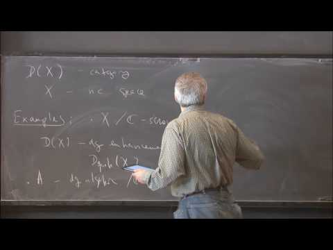 Descent and equivalences in non-commutative geometry - Tony Pantev