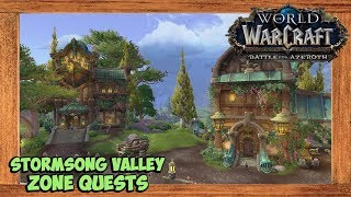 World of Warcraft The Storm Awakens Quest