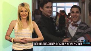 Glee Behind The Scenes of 3X15 Big Brother (Перевод от DoubleCollar)