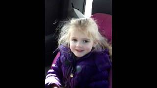 little girl's response to pooping her pants