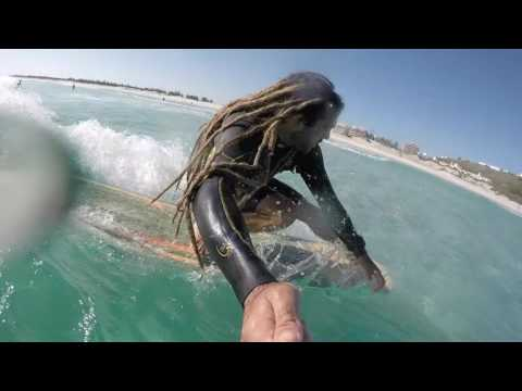 Longboarding Surf in Paradise, Arraial do Cabo, Brasil - Daniel StyLe