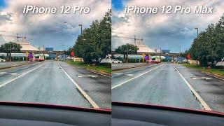 iPhone 12 Pro Max Camera vs iPhone 12 Pro Video Stabilization Test!