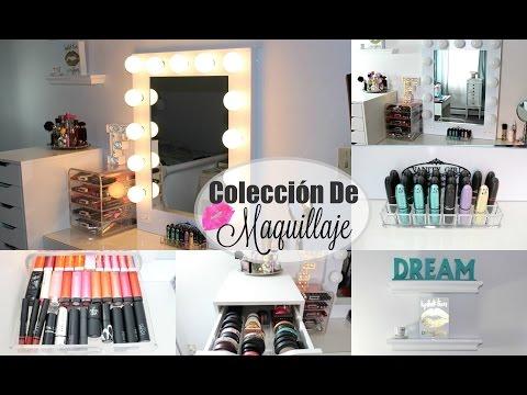 Tour Por Mi Tocador   Vanity Tour Y Mi Coleccion De Maquillaje + Sorteo 2016
