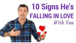 10 Signs He's Falling in Love With You