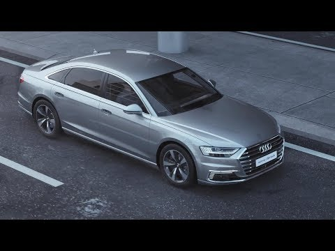 2018 Audi A8 L e-tron - Wireless Charging