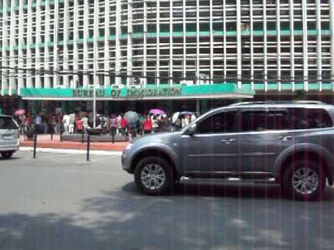 Philippine Immigration Bureau Line Manila - New paperwork