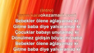 Emrah Baba 1996 TÜRKÇE KARAOKE