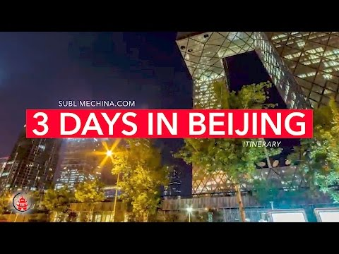 Splendid 3 Days in Beijing | Beijing Itinerary & Tour Suggestion